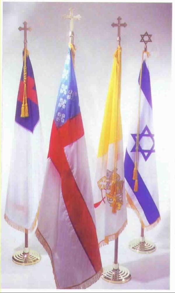 Israel (Zion) Standard Oak Set