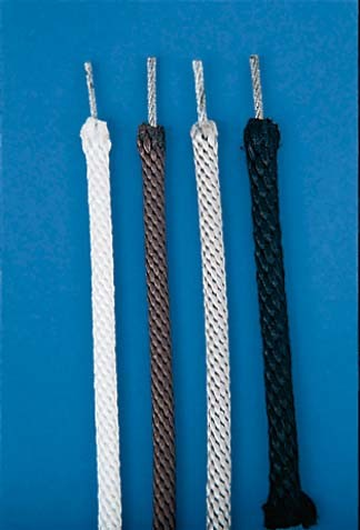 Halyard (Cable Centered) White Polyester