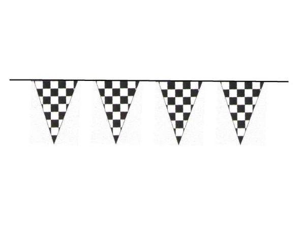 100ft Pennant String- B/W Checker