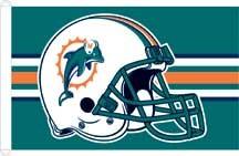 Miami Dolphins Flag