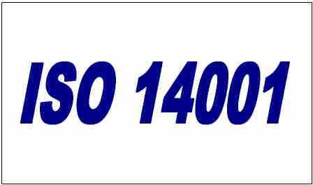 Blue ISO 14001