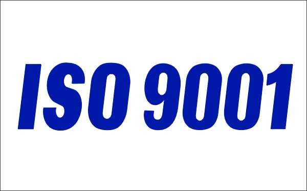 Blue ISO 9001