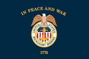 US Merchant Marines Flag