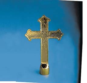 Ornament - Metal Church Cross