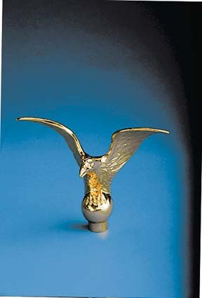 Ornament - Metal Flying Eagel