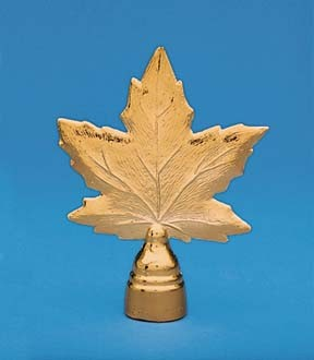Ornament - Metal Maple Leaf