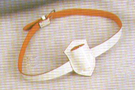 Belt - White Waist Belt