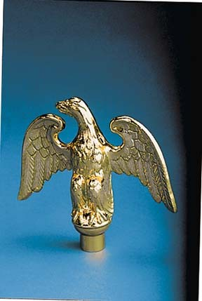 Ornament - Metal Perched Eagle