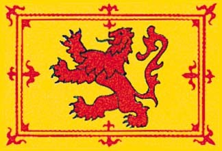 Rampant Lion of Scotland