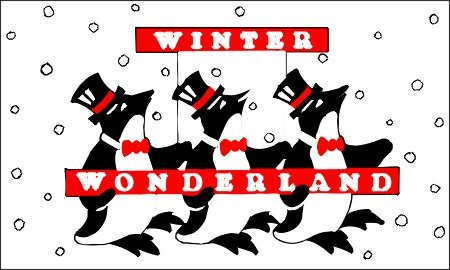 Winterland Penguins