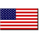 USA Internment Flag - Cotton