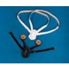 Belt - Black Double Shoulder Strap