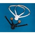 Belt - White Double Shoulder Strap