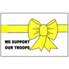 Yellow Ribbon-We Support our Troops